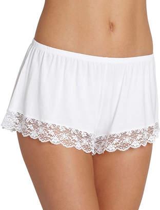 Eberjey Kiss the Bride Lace-Hem Shorts