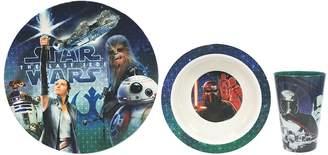 Star Wars Jb Disney Home Episode VIII The Last Jedi 3-pc. Melamine Dinnerware Set by JB Disney Home
