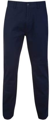 Bar Harbour - Navy Straight Leg Cotton Chino Trousers Long