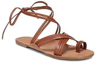 Via Spiga Women's Allegra Leather Ankle Tie Sandals