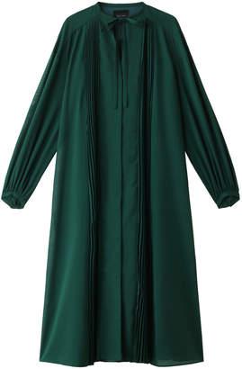 Aula (アウラ) - アウラ フロントプリーツシャツドレス