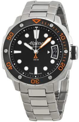 Alpina Extreme Diver 300 Black Dial Steel Bracelet Ladies Watch