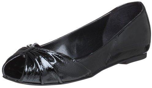 Butter Women's Bunny Peep Toe Flat