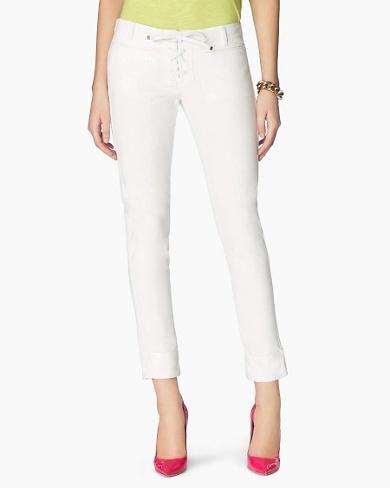 Lace Up Crop Jean