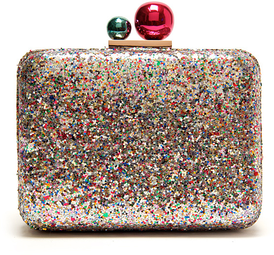 Webster Sophia Azealia Glitter Clutch