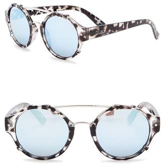 Quay 60mm It's A Sin Round Sunglasses
