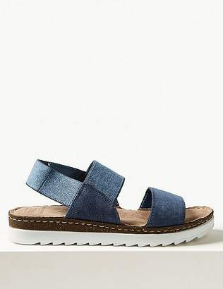 Marks and Spencer Suede Elastic Sandals