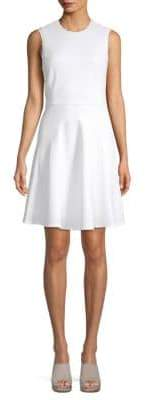 Rebecca Taylor Scalloped Sleeveless Dress