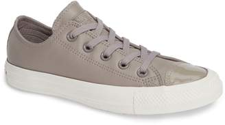 Converse R) Leather Patent Low Top Sneaker