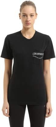 La Crest Cotton Jersey T-Shirt