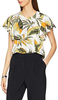Warehouse Women's Palm Springs Ruffle T-Shirt