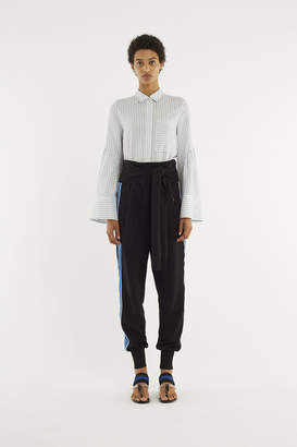 3.1 Phillip Lim French-Terry Tie-Front Jogger