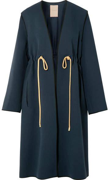 Fleur Cady Coat - Midnight blue