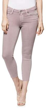 Paige Transcend - Verdugo Raw Hem Crop Skinny Jeans