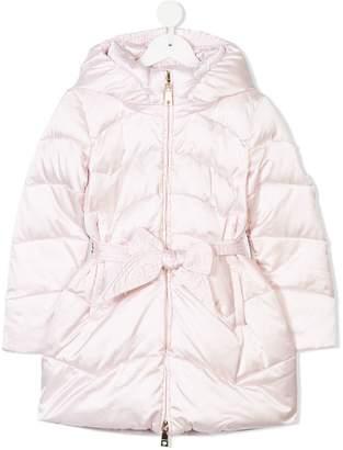 MonnaLisa belted puffer jacket
