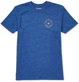 Billabong Little Boys Rotor Logo Graphic Cotton T-Shirt