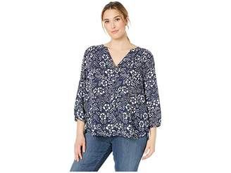 3edb9790a25 NYDJ Plus Size Plus Size Pintuck Blouse