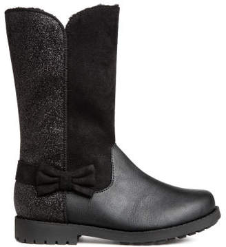 H&M Warm-lined boots - Black