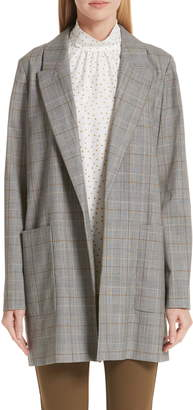 Lafayette 148 New York Malika Plaid Jacket