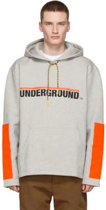 Etudes Grey Stream Underground Hoodie