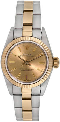Rolex Heritage  1980S Women's Oyster Perpetual Watch