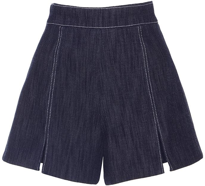 AlexisAlexis Meghan Split Shorts