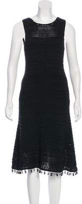 Derek Lam Tassel-Accented Knit Dress