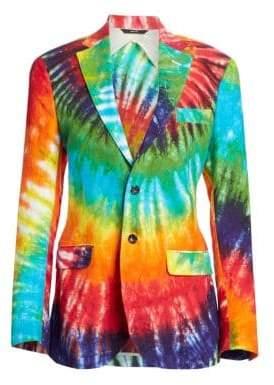R 13 Women's Tie Dye Boyfriend Blazer - Tie Dye - Size XS