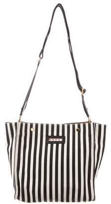 Marni Striped Canvas Bag
