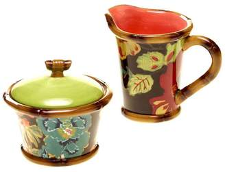 Tracy Porter Eden Ranch Sugar Bowl & Creamer Set