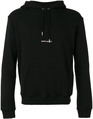 Saint Laurent branded hoodie $790 thestylecure.com
