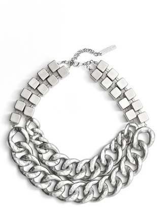 Women's Lafayette 148 New York Double Chain Link Necklace $248 thestylecure.com
