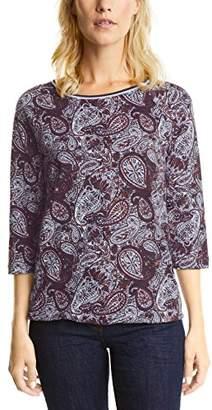 Cecil Women's Paisley Mit Streifenbund T-Shirt