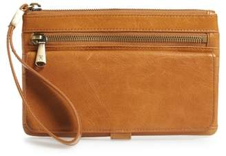 Hobo Roam Leather Wristlet