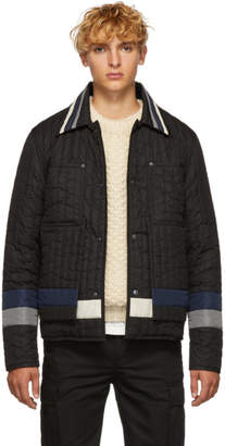Craig Green Black Quilted Workman Jacket