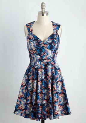 Ixia Flare Maiden Floral Dress in Bloom $69.99 thestylecure.com