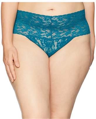 Hanky Panky Plus Size Signature Lace Retro Thong Women's Underwear