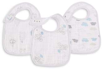 Aden and Anais Night Sky Reverie Classic Snap Bibs, 3 Pack