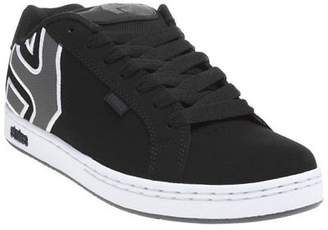 New Mens Black Fader Nubuck Trainers Skate Lace Up