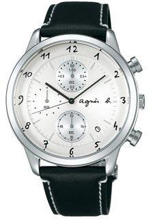 agnès b. (アニエス ベー) - アニエスベー(agnes b)クロノグラフ機能付き メンズサイズの腕時計 《FBRW994》