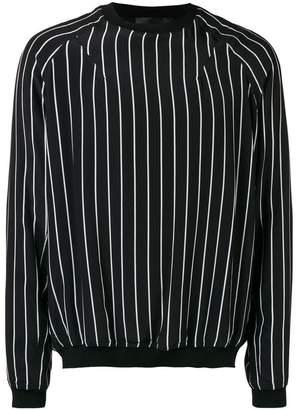 Haider Ackermann striped sweatshirt