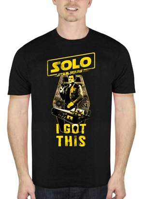 Star Wars Movies & TV Solo: A Story I Got This Men's Short Sleeve Graphic Tee, Up to size 2XL