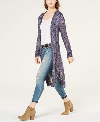 American Rag Juniors' Mixed-Stitch Duster Cardigan
