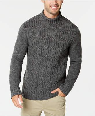 Tasso Elba Men's Lux Colorblocked Turtleneck Sweater
