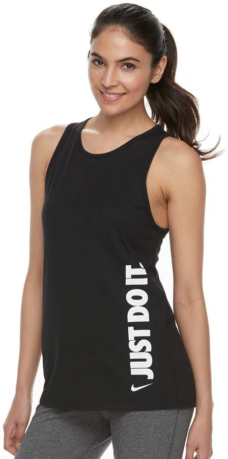 "Women's Nike Dry Training ""Just Do It"" Graphic Tank"