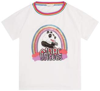 Marc Jacobs Sequin Panda T-Shirt