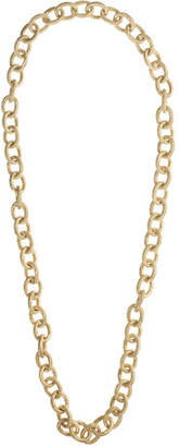 Carolina Bucci 18k Gold Florentine Finish Links Necklace