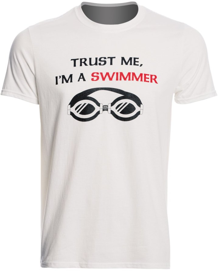 USA Swimming Men's Trust Me Crew Neck TShirt - 8147082
