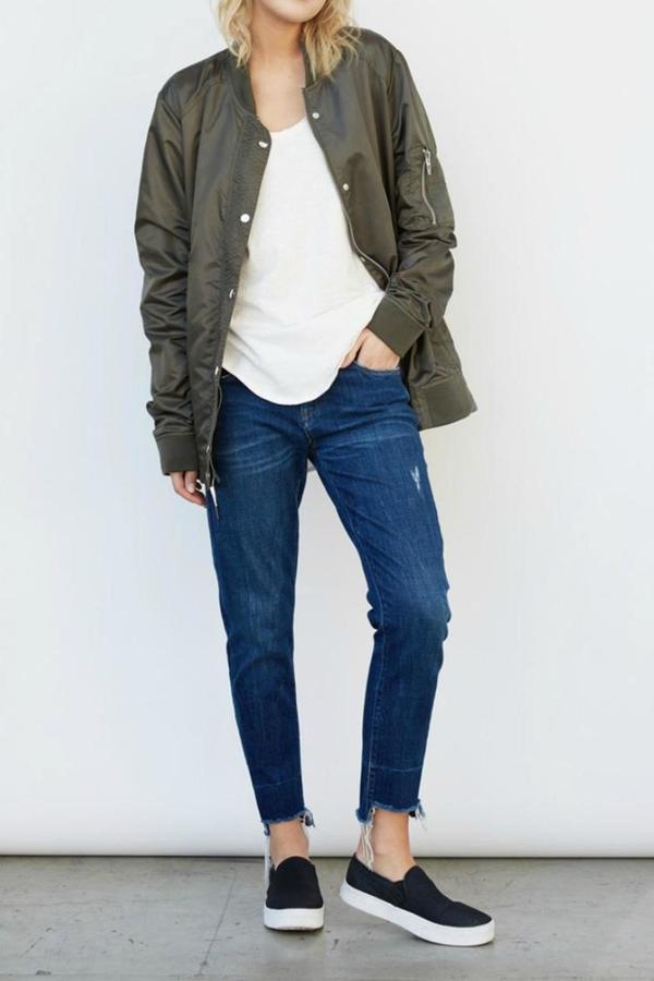 Blank NYCBlankNYC Raw Hemline Jeans