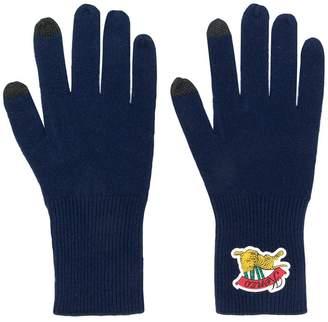 Kenzo logo gloves